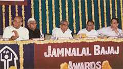 Jamnalal Bajaj Awards 1988 - Award Ceremony