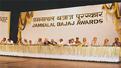 Jamnalal Bajaj Awards 1990 - Award Ceremony