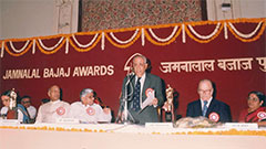 Jamnalal Bajaj Awards 1991 - Award Ceremony