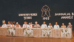 Jamnalal Bajaj Awards 1993 - Award Ceremony