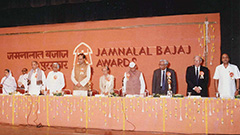 Jamnalal Bajaj Awards 1994 - Award Ceremony
