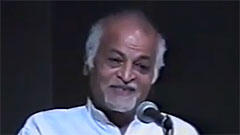 Satish Kumar - Recipient, JBA 2001