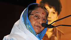 Pratibha Patil - Chief Guest, JBA 2010