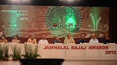 Jamnalal Bajaj Awards 2012 - Award Ceremony