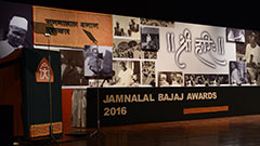 Jamnalal Bajaj Awards 2016 - Award Ceremony